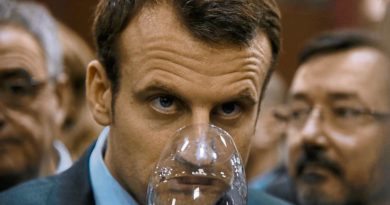 Macron no quiere ley seca