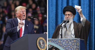 """Trump al líder supremo de Irán: """"¡Debería tener mucho cuidado con las palabras!"""""""