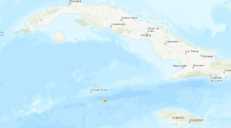 Una réplica de 6,1 se registra frente a las costas de las Islas Caimán en el Caribe