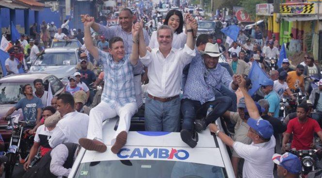 Abinader afirma que apoyo de ciudadanos a su candidatura no tiene vuelta atrás
