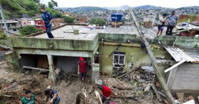 Al menos 30 muertos y 17 desaparecidos tras lluvias torrenciales en Brasil