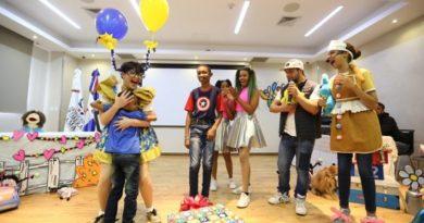 CAID recibe a niños y niñas con juguetes, canciones y bailes