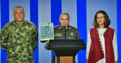 """Colombia lanza """"cartel de los más buscados"""" por crímenes contra exguerrilleros y ofrece recompensas de hasta un millón de dólares"""