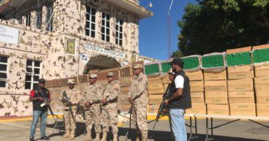 Detienen cuatro hombres y decomisan más de un millón de cigarrillos en Montecristi