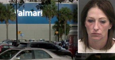 Detienen mujer cuando fabricaba una bomba en un Wallmart de Florida