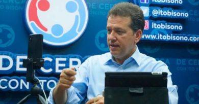 Ito Bisonó dice apoyará candidato que más se apegue a sus propuestas