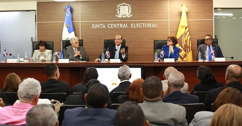 JCE finaliza el proceso de impresión de los 16,032 padrones electorales