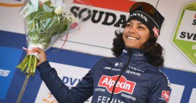 Joven dominicana ocupa primer lugar del ránking mundial femenino de la Unión Ciclística Internacional