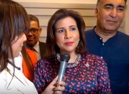 """Margarita dice esperar que el próximo presidente del país """"sea del PLD"""""""