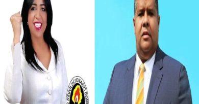 """FIRMES : Wanda Rosado con el apoyo de su vice alcalde Julio César Bonilla """" Moreno Tijeras"""" interpone recurso de apelación ante el TSE."""