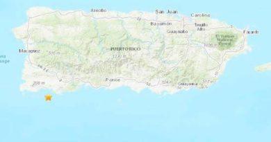 Puerto Rico es tocado por un nuevo sismo de 5,2