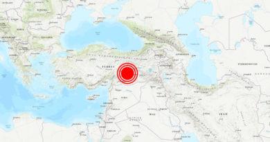 Se registra un potente terremoto de magnitud 6,5 en el este de Turquía