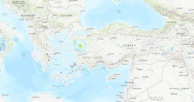 Un potente sismo de magnitud 5,6 sacude Turquía