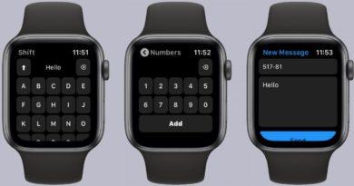 Se acabó el dictar, con este teclado puedes escribir en la pantalla del Apple Watch