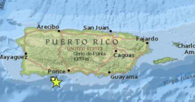 Fuerte temblor estremece a Puerto Rico en la mañana del Día de Reyes
