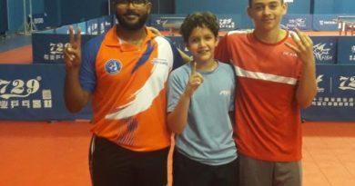 Rafael Cabrera gana oro en Torneo Metropolitano Tenis de Mesa