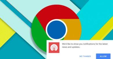 La nueva actualización de Chrome bloqueará automáticamente las notificaciones más invasivas