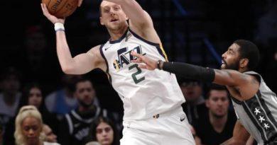Utah Jazz hila 10mo triunfo, tras doblegar a Nets