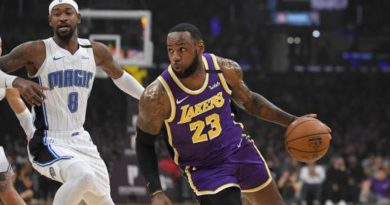 Magic corta la racha de triunfos los Lakers con triunfo