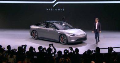 Sony ha presentado un coche eléctrico en la mayor feria de tecnología estadounidense
