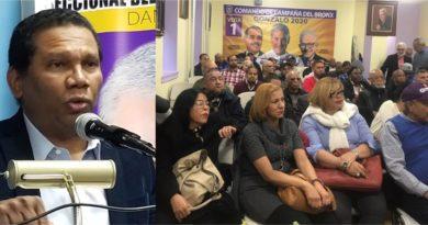 El PLD activa siete comandos de campaña en El Bronx con presencia de más de 100 presidentes intermedios