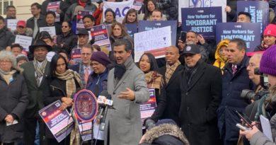Ydanis encabeza histórica coalición para lograr que residentes legales voten en elecciones municipales de Nueva York