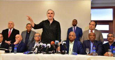 14 partidos opositores convocan a marcha caravana por la democracia este domingo