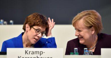 Annegret Kramp-Karrenbauer renuncia a suceder a Merkel tras la crisis de Turingia