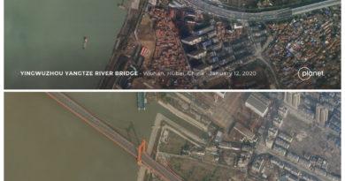 ATENCION:Imágenes de satélite muestran las calles vacías de Wuhan tras su cierre por el coronavirus
