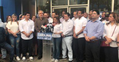 Carolina: «este es un país de gente digna y luchadora que hará sentir su decisión hoy o mañana»