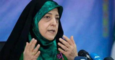 Contagiada de coronavirus vicepresidenta de Irán