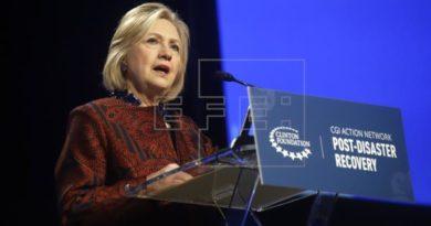 Hillary Clinton critica a Trump por su falta de apoyo para reconstruir P.Rico
