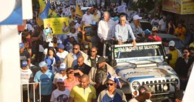 Candidato a alcalde por el PRM Manuel Jiménez hará marcha el sábado