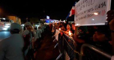 Manifestantes contra la JCE aumentan y expanden su radio de acción