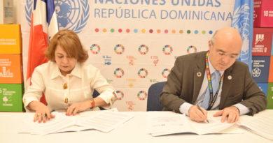 Participación Ciudadana yNaciones Unidas firman acuerdo para contribuir al desarrollo sostenible