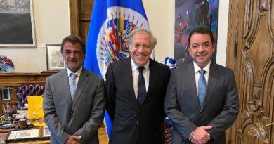 Presidente ALAMI se reúne con secretario general de la OEA