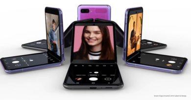 Samsung presenta un nuevo modelo de teléfono móvil plegable, el Galaxy Z Flip