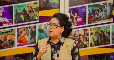 Senadora Cristina Lizardo manifiesta respaldo a decisióndel Gobierno