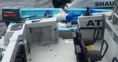 Tres narcotraficantes heridos en alta mar durante enfrentamiento con agentes de la DNCD