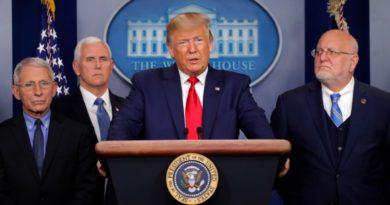 Trump estudia restricciones de entrada en frontera con México por coronavirus