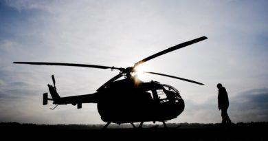 Un helicóptero policial se estrella en Japón