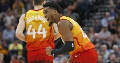 Donovan Mitchell logra 26 puntos; Jazz doblega a Heat
