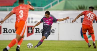Jarabacoa FC y Atlético Pantoja en inicio de la Supercopa LDF