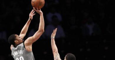 Los Nets paran en 15 la racha de triunfos de Raptors