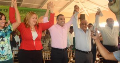 Luis Alberto recibe el respaldo del Partido Liberal Reformista y su candidata a alcaldesa en SDE.