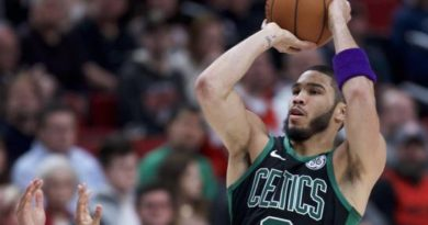 Jayson Tatum aporta 36 puntos a triunfo de Boston Celtics