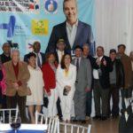 Dirigentes de Coalición Democrática se juramentan en apoyo a candidatura de Luis Abinader