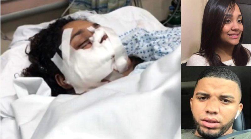 Dominicana atacada a machetazos por ex pareja le había retirado una orden de alejamiento en Nueva Jersey para que no fuera deportado