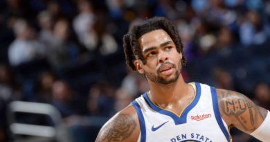 Timberwolves consiguen a D'Angelo Russell, de Warriors, por Andrew Wiggins