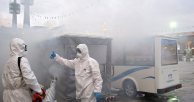 Irán confirma 77 muertos y 2.336 infectados por coronavirus